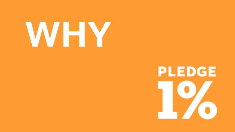 Pledge1% Urth なぜ スタートアップ